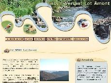 Visuel site SAGE Lot Amont