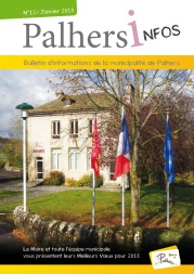 Couverture PALHERS INFOS 2016